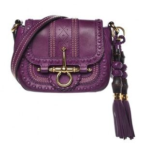 28ee1e4d5277 Gucci Bags - Gucci purple leather small shoulder bag
